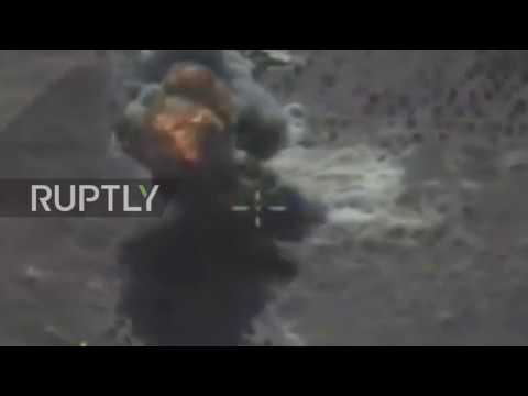 Syria: Submarine launches cruise missile on Al-Nusra positions in Idlib