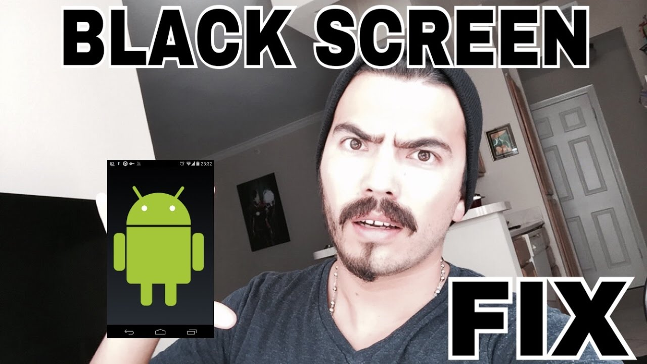 why is android youtube black screen