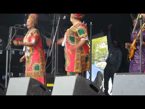Jaliba Kuyateh & Kumareh Band, (Part 1/2) @World Village Festival 2015, Helsinki