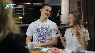 Zenit Family: Екатерина Смольникова в гостях у семьи Луневых