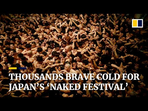 Thousands brave cold for Japan's 'Naked Festival' amid coronavirus outbreak