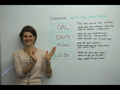 Coaching With The GROW Model - Leadership Training