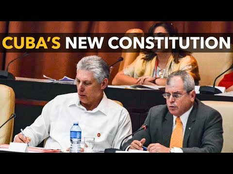 Cuba's New Draft Constitution: Institutionalizing Revolution and Reversing Personalization