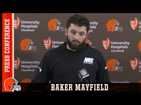 "Baker Mayfield After Wk 17 Loss ""It's About Finding the Positives"" 