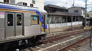 南海高野線堺東駅 6300系(6325編成)試運転停車