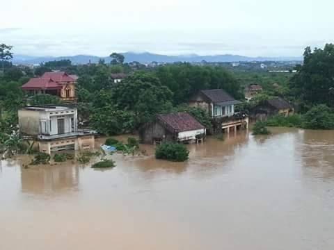 Mưa lũ kinh hoàng ở Bắc Giang ( Nam Dương -Lục Ngạn ) gây thiệt hại nặng nề