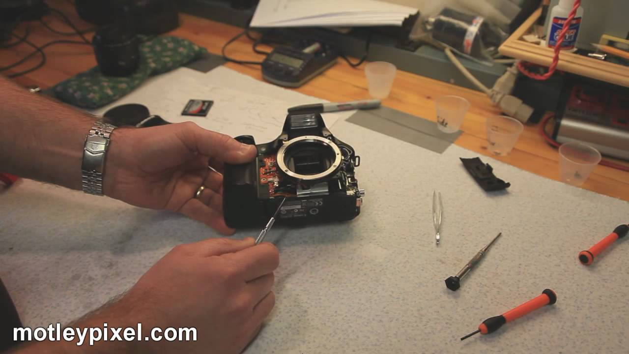Canon Eos 30d Shutter Repair Part 2   Success