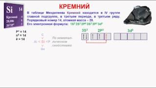 видео Химия - кремний
