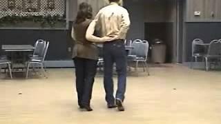 Rock Me Mama walk thru & dance thru to Wagon Wheel