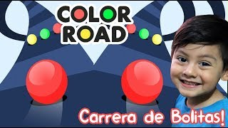 Color Road Gameplay | Carrera de Bolitas de Colores | Juegos para niños