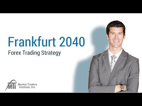 Breakthrough Trading Strategy: Frankfurt 2040