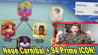 Kranker Sturm! Neue CARNIBAL Karte + 94 Prime Icon Moments im Fut Draft! - Fifa 19 Ultimate Team