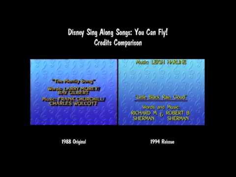 Disney Sing Along Songs Very Merry Christmas Songs 1988 Vhs.Disney Sing Along Songs Very Merry Christmas Songs Credits