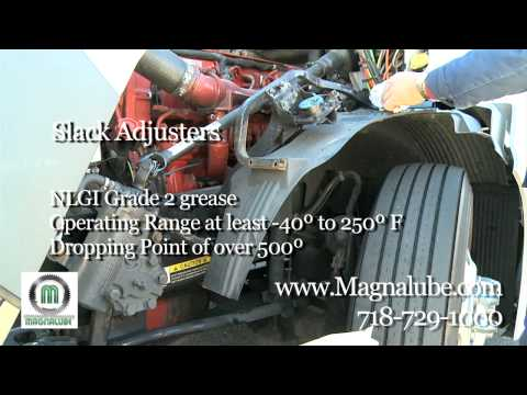 How To Grease Trucks: Greasing The Slack Adjusters with