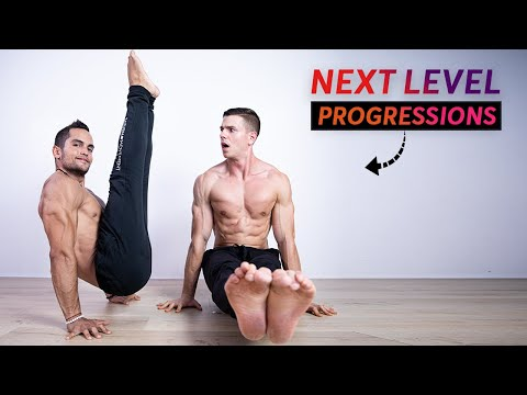 L-Sit to V-Sit Tutorial l sit Workout & Tutorial (ft. Fitnessfaqs)