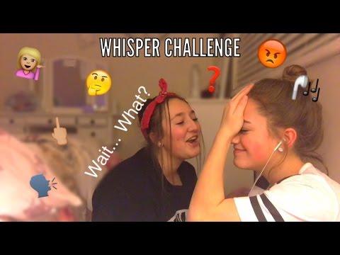 WHISPER CHALLENGE|| Kennedy Huff