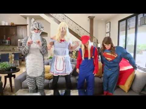 Halloween Costume Ideas  with Drew, Jonathan, iJustine & Jenna
