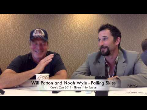 Comic Con News: Noah Wyle and Will Patton Discuss Leadership on Falling Skies