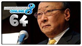 MARIO KART 8 ONLINE Part 64: Tatsumi Kimishima neuer Nintendo Präsident & Pokémon Go