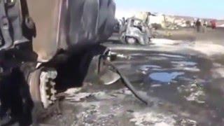 ВКС России уничтожила конвой боевиков