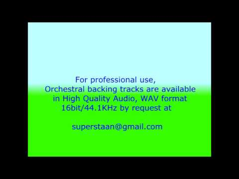 Fum Fum Fum  Catalan Christmas carol Orchestral Instrumental Backing Track (opera karaoke)