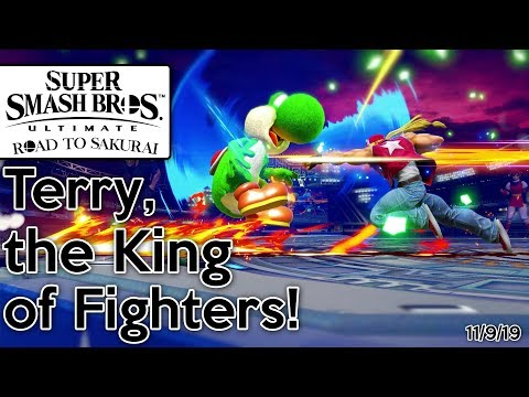 Super Smash Bros. Ultimate - Road To Sakurai - Terry, The King Of Fighters! (11/9/19)