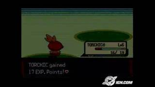 Pokemon Emerald Version Game Boy Gameplay - Battle on