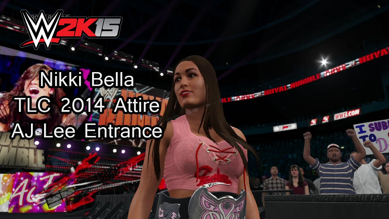 WWE 2K15 (PS4) Nikki Bella TLC 2014 Attire (AJ Lee ...