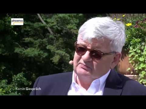 Kamingespräch: Michael Hirz mit Joschka Fischer am 07.07.17