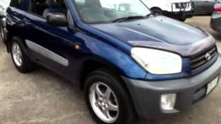 2000 Toyota RAV4 Aca20r Edge Blue 4 Speed Automatic Hardtop