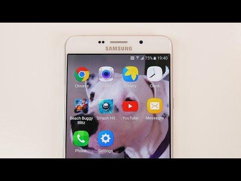 Samsung Galaxy A9 (2016) | Test de velocidad y multitareas