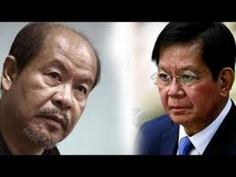 Lacson: Sponsor of Lascañas Trip to Singapore is the same person who introduced him in media