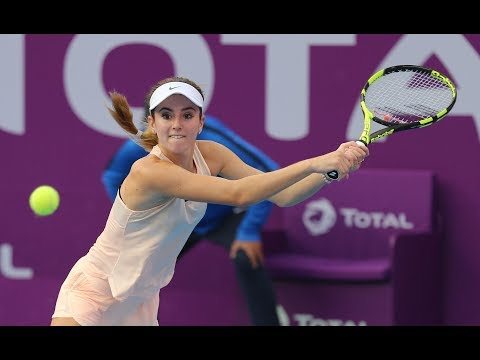 2018 Qatar Total Open Third Round | Karolina Pliskova vs. CiCi Bellis | WTA Highlights