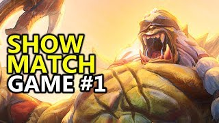 ♥ Call To Arms Streamer Show Match Game 1 - Heroes of the Storm (HotS Gameplay)