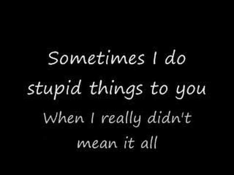 Sorry for the stupid things - Babyface (with lyrics)