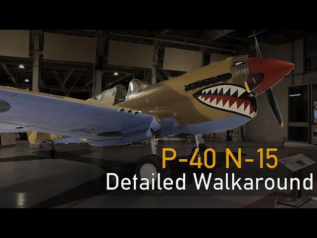 Curtiss P-40N Kittyhawk - Detailed Walkaround