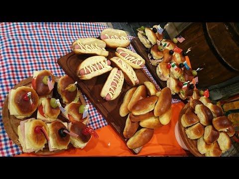 Pan casero de Viena, chips y panchos con Javier Todaro