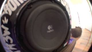 Logitech z623 Subwoofer Bass Test