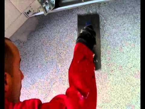 Nakladanie Tynku Mozaikowego Gramaplast 01 Youtube