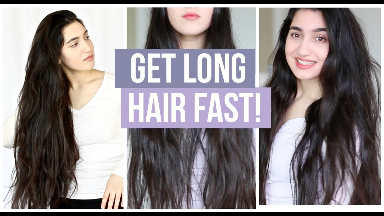 how to get long hair tips