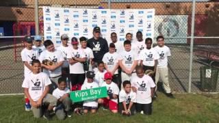 Hideki Matsui Visits Kips Bay Boys & Girls Club