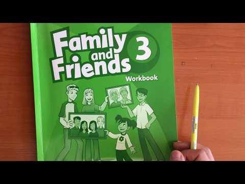 Английский язык для школьников. Family And Friends 3 Workbook. Рабочая тетрадь по английскому языку.