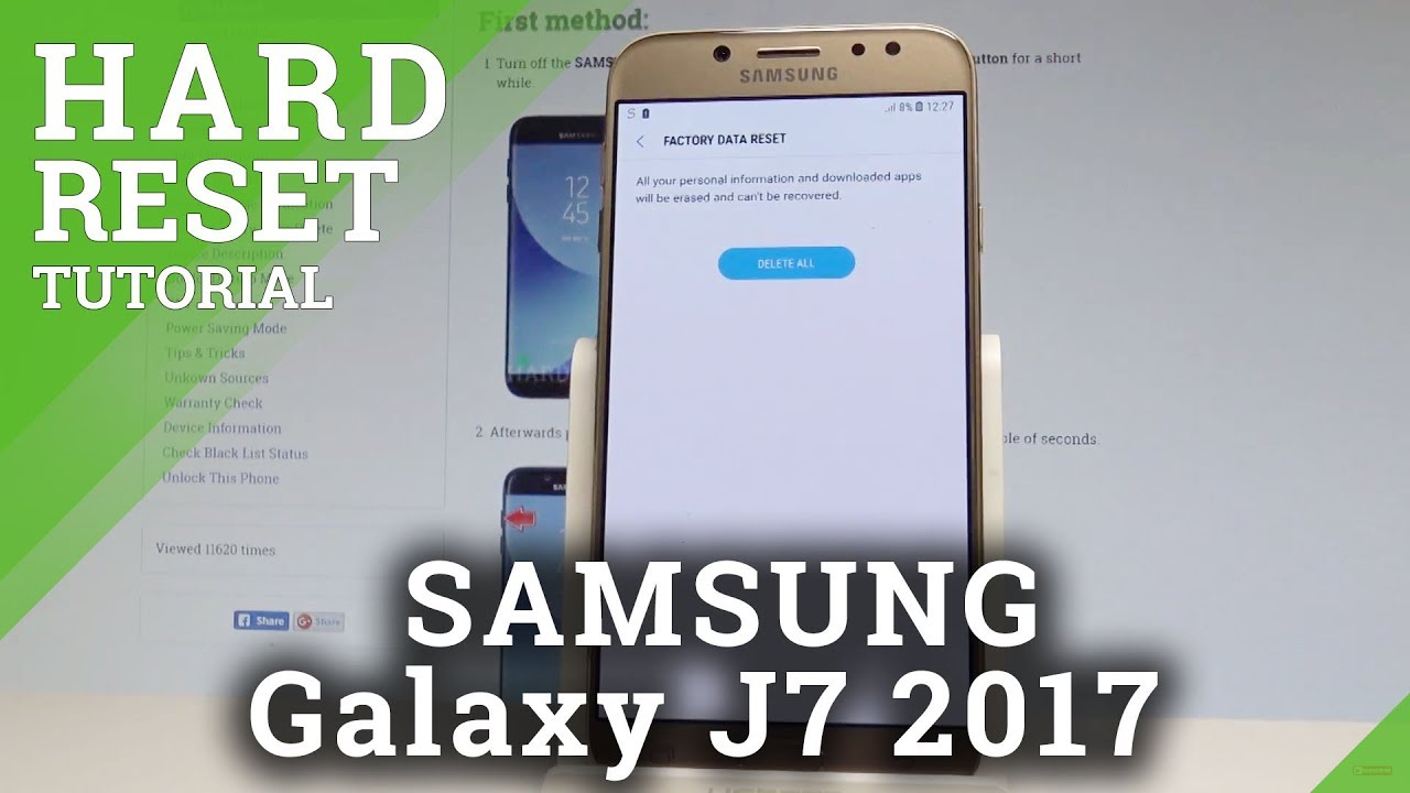 Hard Reset SAMSUNG J730 Galaxy J7 2017 - HardReset info