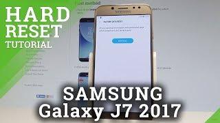 How To Factory Reset Samsung Galaxy J7 2017 - Erase Everything |hardreset.info