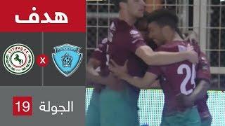 هدف الاتفاق الأول ضد الباطن (عبدالرحمن العبود) في الجولة 19 من الدوري السعودي للمحترفين