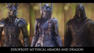 TES V - Skyrim Mods: Zerofrost Mythical Armors and Dragon