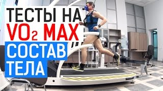 тест на VO2 max и определение состава тела