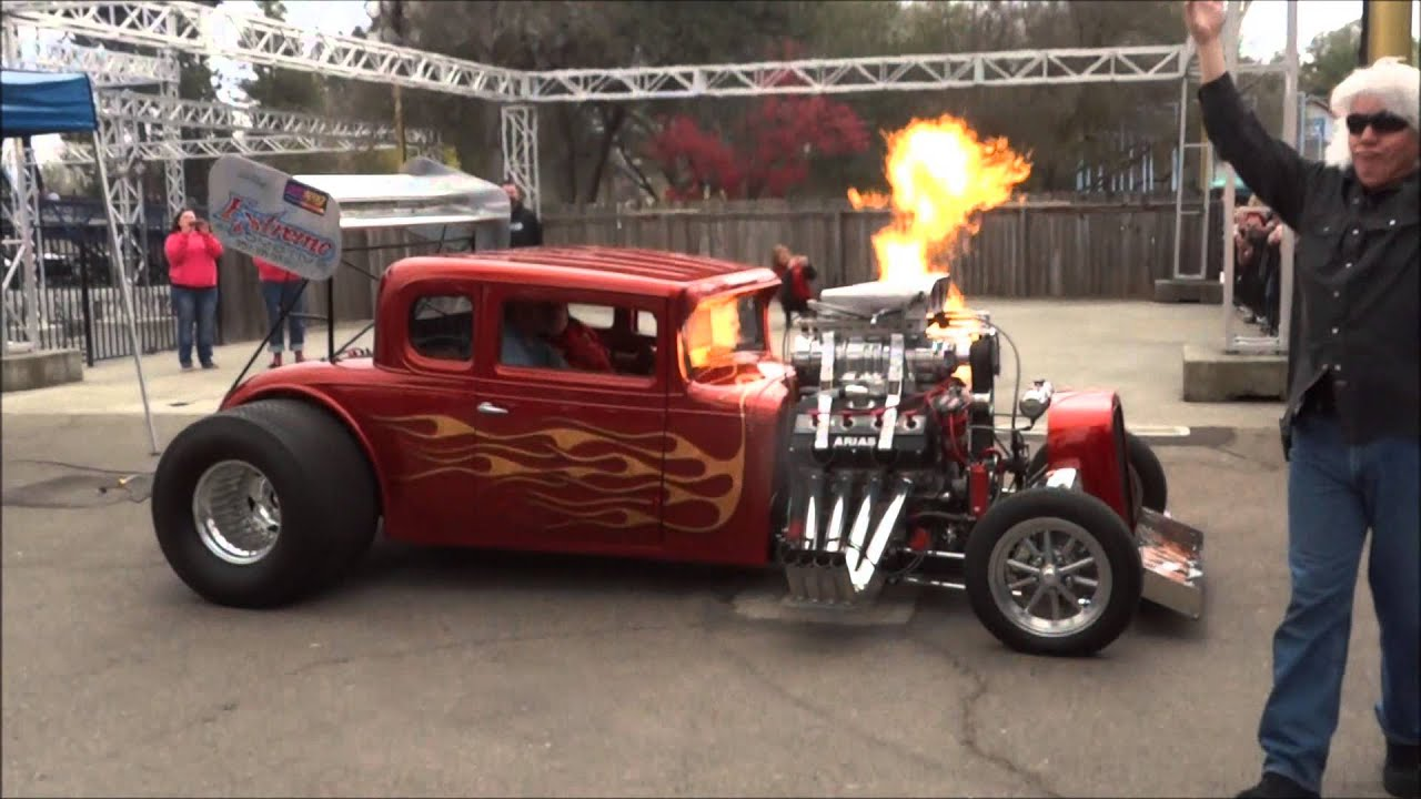 Flame Throwing 1931 Chevy Coupe \