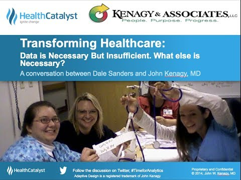 Transforming Healthcare  Data Alone is Not Sufficient 3 27 14, 10 55 AM