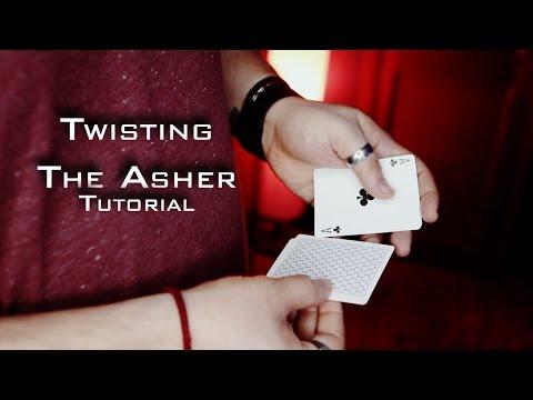 Amazing Card Magic Tutorial. (Twisting The Asher)